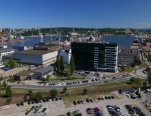 "Budynek ""AKWARIUM""  Pomorskiej Specjalnej Strefy Ekonomicznej sp. z o.o."