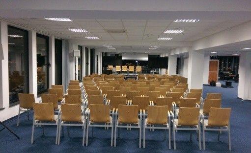 """Centrum szkoleniowo-konferencyjne  Budynek """"AKWARIUM""""  Pomorskiej Specjalnej Strefy Ekonomicznej sp. z o.o. / 4"""