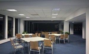 """Budynek """"AKWARIUM""""  Pomorskiej Specjalnej Strefy Ekonomicznej sp. z o.o. Centrum szkoleniowo-konferencyjne / 1"""