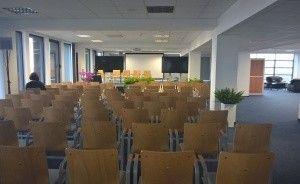 """Budynek """"AKWARIUM""""  Pomorskiej Specjalnej Strefy Ekonomicznej sp. z o.o. Centrum szkoleniowo-konferencyjne / 0"""