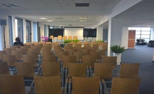 """Centrum szkoleniowo-konferencyjne  Budynek """"AKWARIUM""""  Pomorskiej Specjalnej Strefy Ekonomicznej sp. z o.o. / 0"""