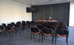 """Budynek """"AKWARIUM""""  Pomorskiej Specjalnej Strefy Ekonomicznej sp. z o.o. Centrum szkoleniowo-konferencyjne / 6"""