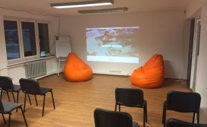 Cluster Cowork Katowice Sala konferencyjna / 3