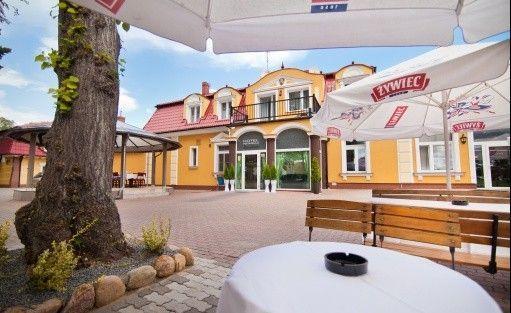 """Hotel *** Hotel Restauracja """"Dom nad rzeką""""  / 1"""