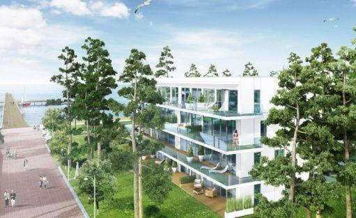 Apartamentowiec condo Medical Investment Trust w Juracie