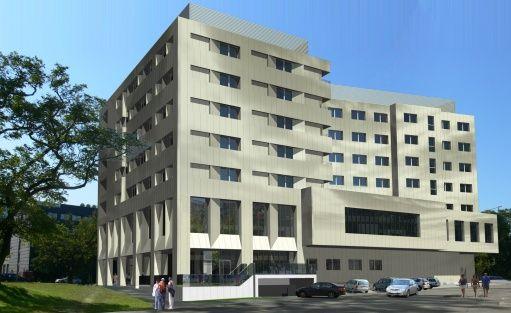 Obiekt w budowie DB Hotel Wrocław / 1