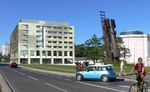 Obiekt w budowie DB Hotel Wrocław / 2