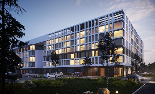 Obiekt w budowie Żoliborz Business Concept / 1