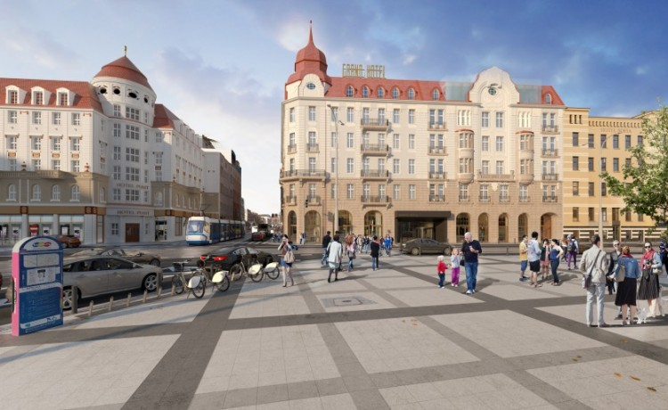 Obiekt w budowie Hotel Grand we Wrocławiu / 1