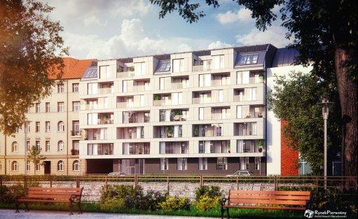 Obiekt w budowie Apartamenty Zyndrama we Wrocławiu / 1