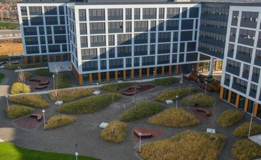 Obiekt w budowie Business Garden Wrocław / 1
