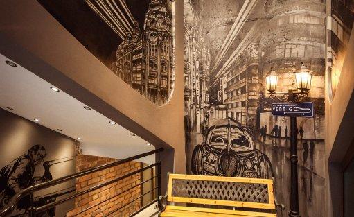 Wyjątkowe miejsce Vertigo Jazz Club & Restaurant / 0