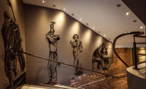 Wyjątkowe miejsce Vertigo Jazz Club & Restaurant / 13