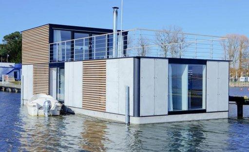 Wyjątkowe miejsce HT Houseboats / Domy na wodzie Mielno / 0