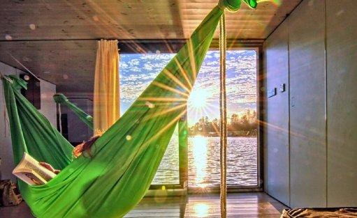 Wyjątkowe miejsce HT Houseboats / Domy na wodzie Mielno / 10