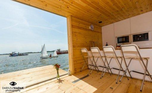 Wyjątkowe miejsce HT Houseboats / Domy na wodzie Mielno / 14