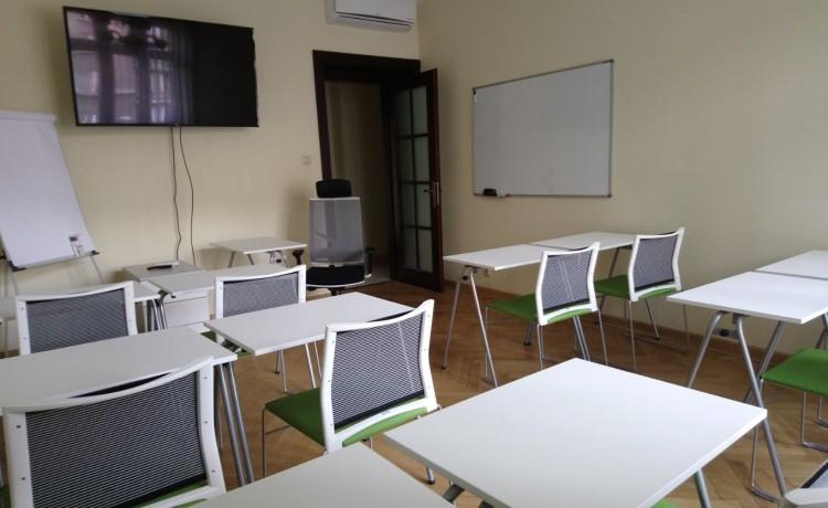 Sala szkoleniowa pCon w Centrum Krakowa