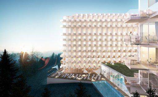 Obiekt w budowie Crystal Mountain Resort / 1