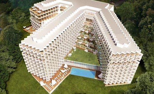 Obiekt w budowie Crystal Mountain Resort / 2
