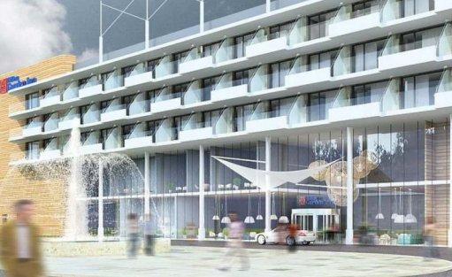Obiekt w budowie Hilton Garden Inn Toruń / 0
