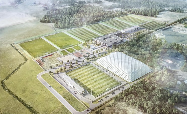 Obiekt w budowie Legia Training Center / 0