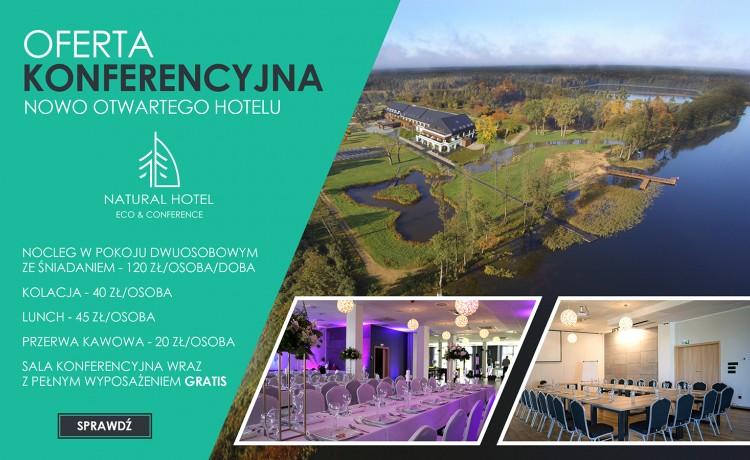 Obiekt konferencyjny NATURAL HOTEL ECO&CONFERENCE Konferencje w rozsądnej cenie / 0