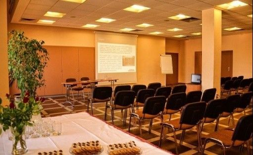 zdjęcie sali konferencyjnej, Centrum Konferencji i Rekreacji AKWAWIT, Leszno